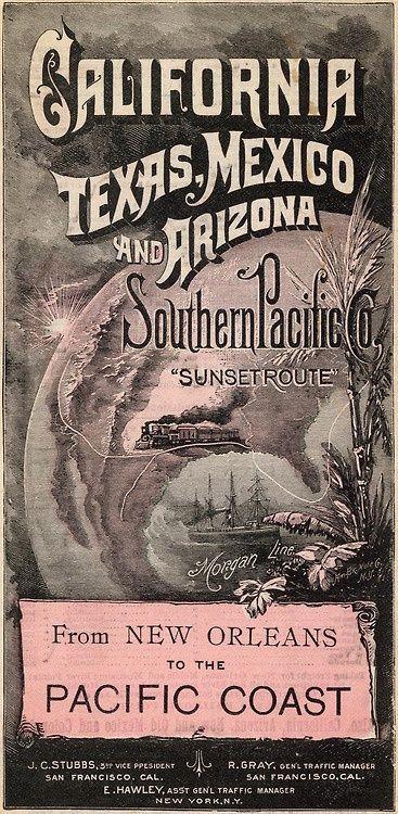 Southern Pacific Railroad, 1892