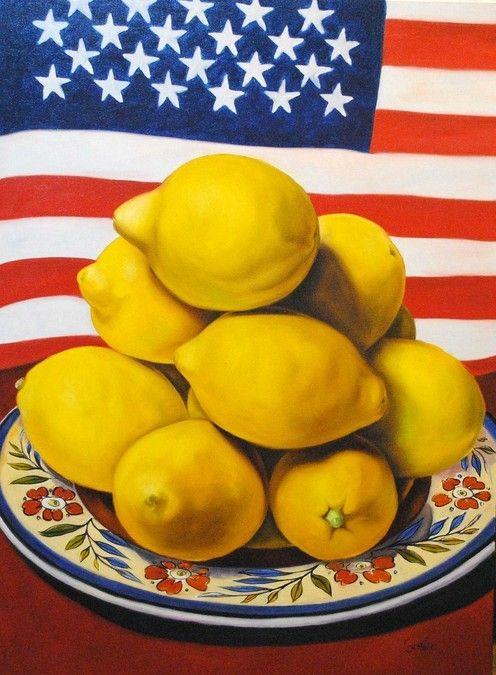 American Lemons  36x48 - Carmelo Sortino