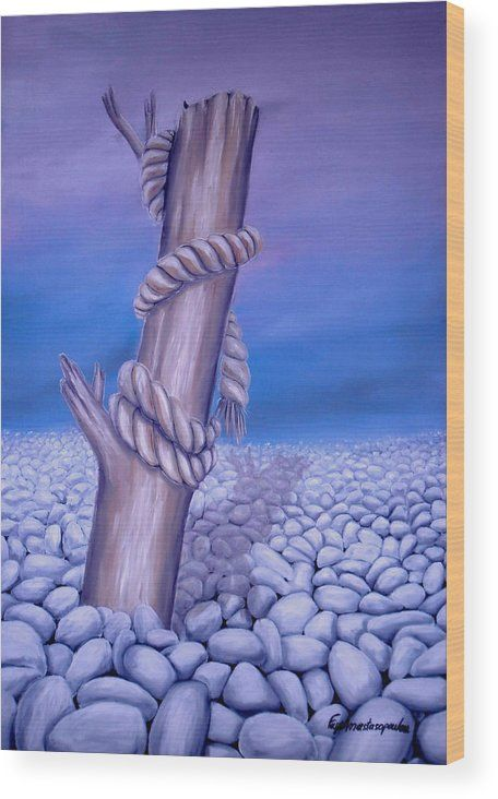 Wood Print,  desert,stones,coastal,scene,landscape,pebbles,rocks,rope,dead,tree,log,branch,wood,trunk,broken,old,blue,purple,lavender,white,beautiful,image,fine,oil,painting,contemporary,scenic,modern,virtual,deviant,wall,art,awesome,cool,artistic,artwork,for,sale,home,office,decor,decoration,decorative,items,ideas