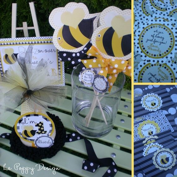 Bumble Bee Birthday Party Ideas Buzz On Over