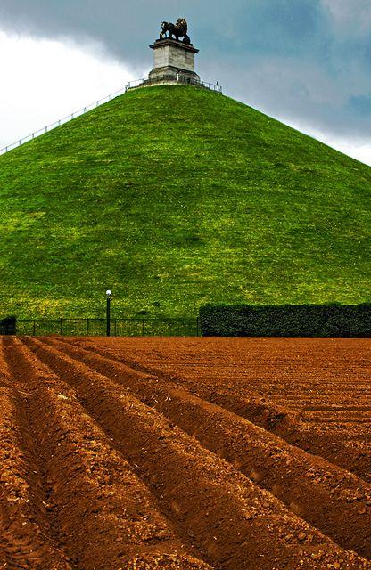 le butte de lion - Where the battle of Waterloo was fought (Belgium)