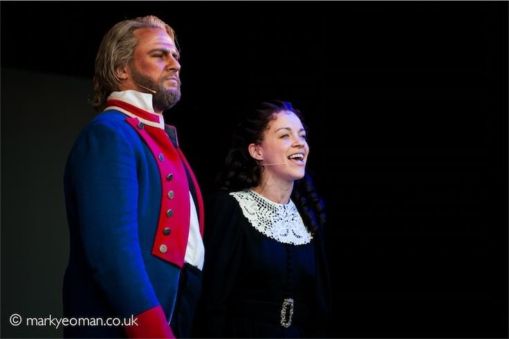 Geronimo Rauch (Jean Valjean) and Samantha Dorsey (Cosette) Copyright Mark Yeoman 2011 #theatre #lesmis #musicals www.lesmis.com