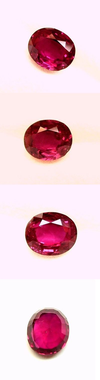Natural Rubies 3827: 1.91 Carats, Natural Loose Gem Oval Pigeon S Blood Red Ruby 7.8X6.5X4.3 Mm -> BUY IT NOW ONLY: $2766.12 on eBay!