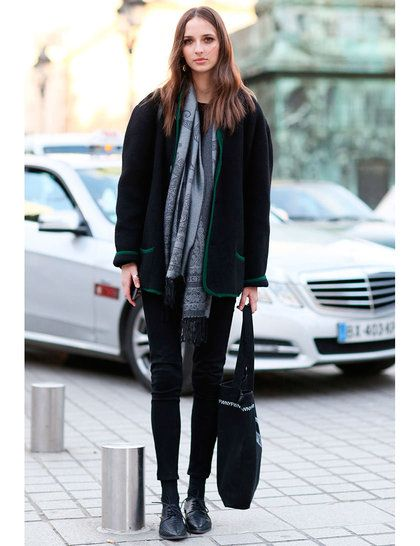 Models Off Duty: PFW AW14 Street Style | ELLE UK