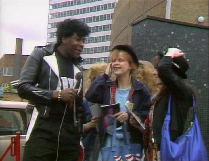 Lenny Henry & Tracey Ullman. Three of a Kind, 1981.
