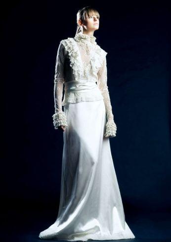 Suknia ślubna venika w stylu vintage