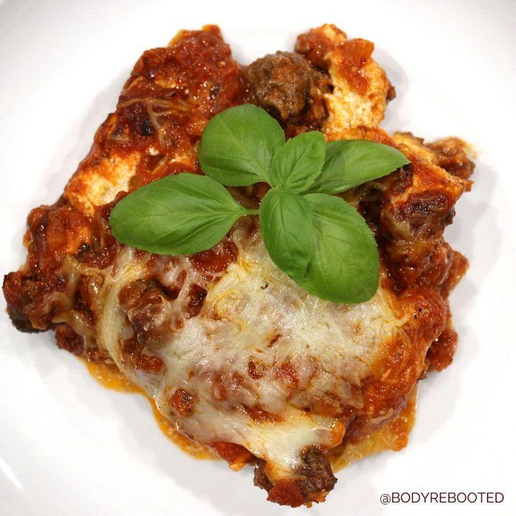 Meat Lasagna {Vegetarian Option too)