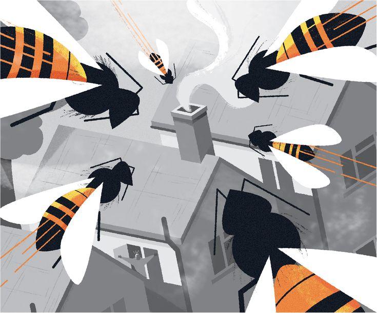 Freelance illustrator dale edwin murray conceptual waitrose weekend newspaper illustration