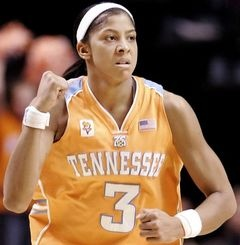UT Lady Vol Candace Parker, the greatest women's basketball player ever!