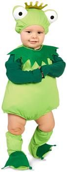 PartyBell.com - Frog Prince Infant Costume
