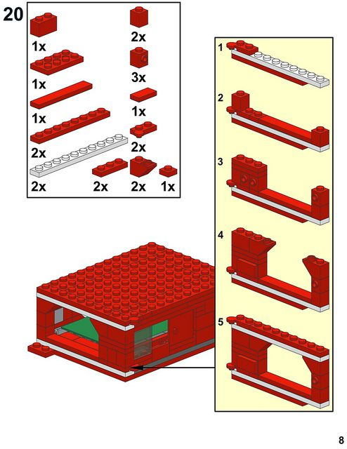 Raspberry Pi case instructions, page 8