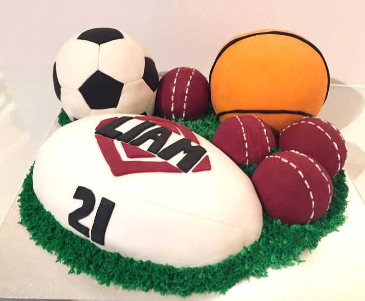 Sports Ball Cakes  Ball Cake  Sport Fanatics Cake