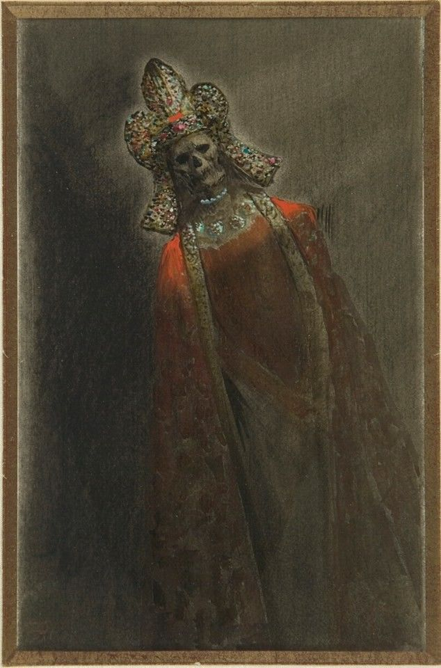 Armand Rassenfosse - Crowned #death - unknown date