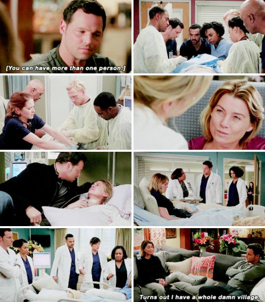 meredith, alex, maggie, callie, arizona, april, stephanie, jackson, ben, bailey and richard