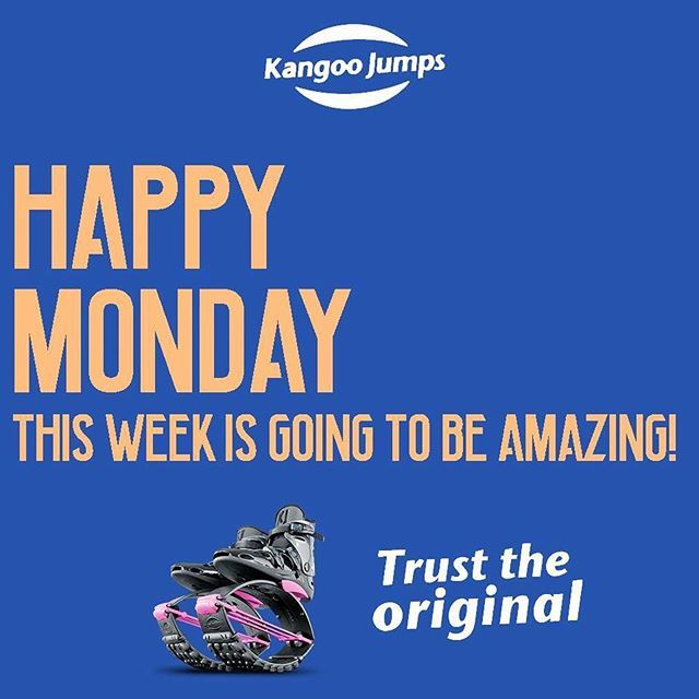 The week is going to be amazing! #HappyMonday ... ... .... .... .... .... .... .... #fitness #morethanabrand #family #kangoo #jumps #bounce #shoes #kangoojumps #boots #rebound #fit #fitnessmotivation #weightlossmotivation #weightlossjourney