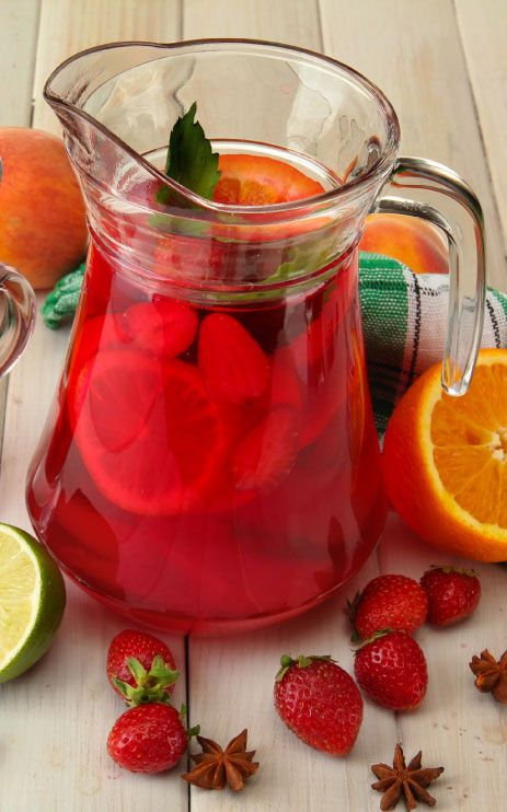 Sweetheart Strawberry Punch Recipe