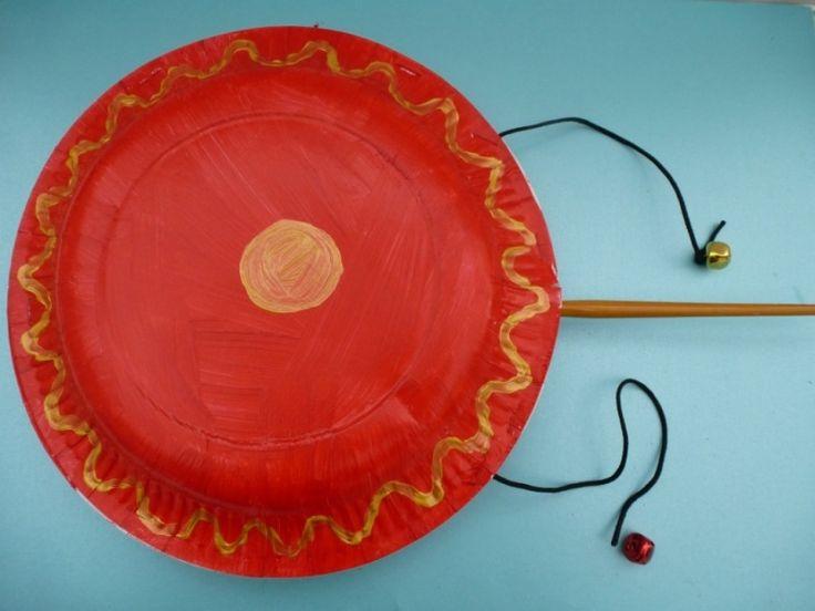 Chinese drum image