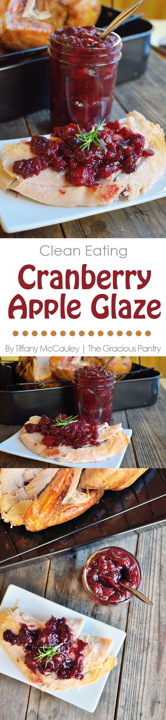 287 best project 13 homemade gifts images on pinterest hand clean eating easy thanksgiving turkey with cranberry apple glaze christmas foodschristmas recipesholiday forumfinder Gallery