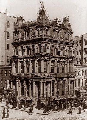 Vintage 1909, Fireman's Life Insurance Company Building, NYC, www.RevWill.com