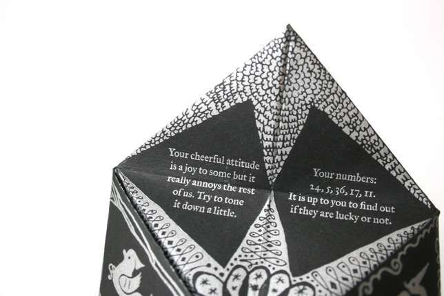 Chic Destiny Games - Remember making your own paper origami fortune tellers as a kid? It's time to bring back your destiny-infatuated youth, but this time, with a...