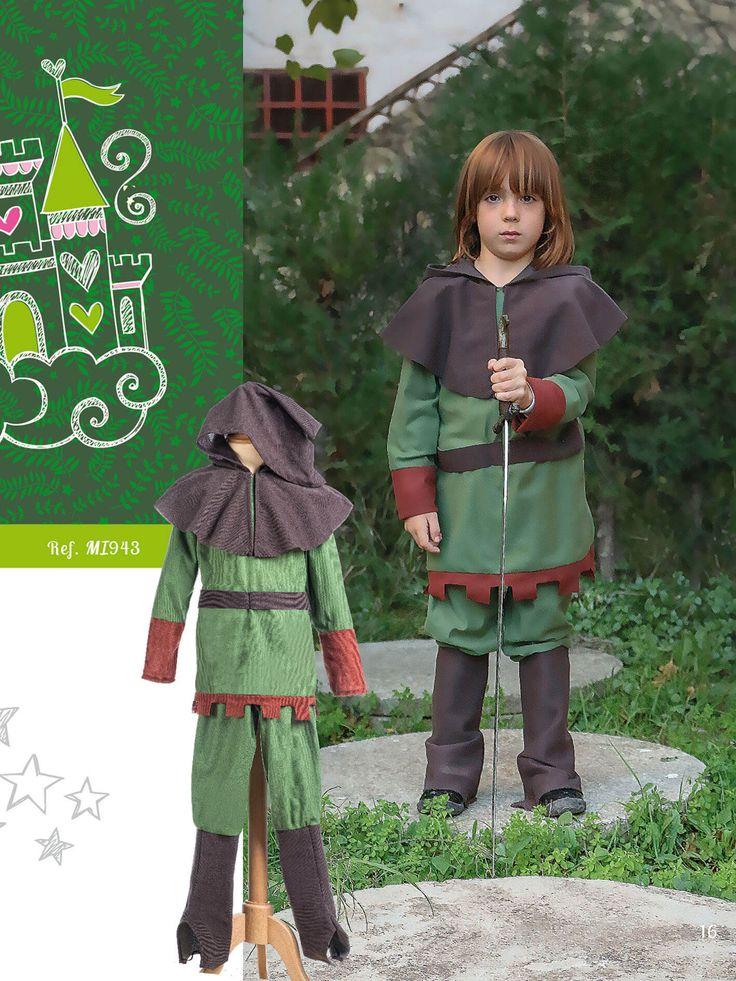 Traje de príncipe de los bosques para niño