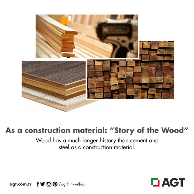 """As a construction material: """"Story of the wood""""  For full of article: http://bit.ly/1LGdBFi"""