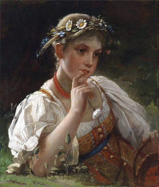 Russian Traditional Costume in Paintings