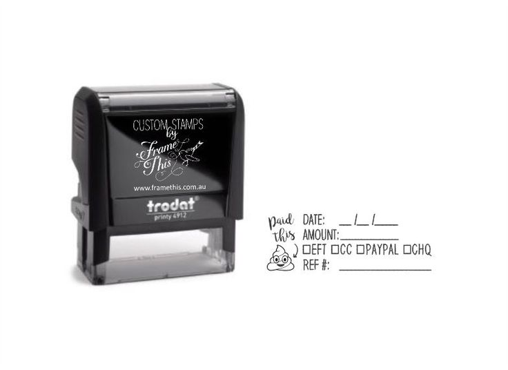 Paid This Self-inking Stamp