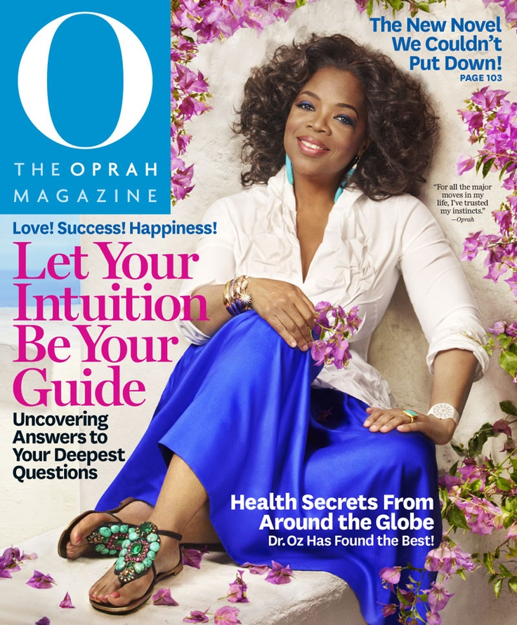 O Magazine Cover, August 2011
