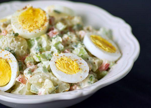 Традиционный американский картофельный салат от Марты Стюарт
