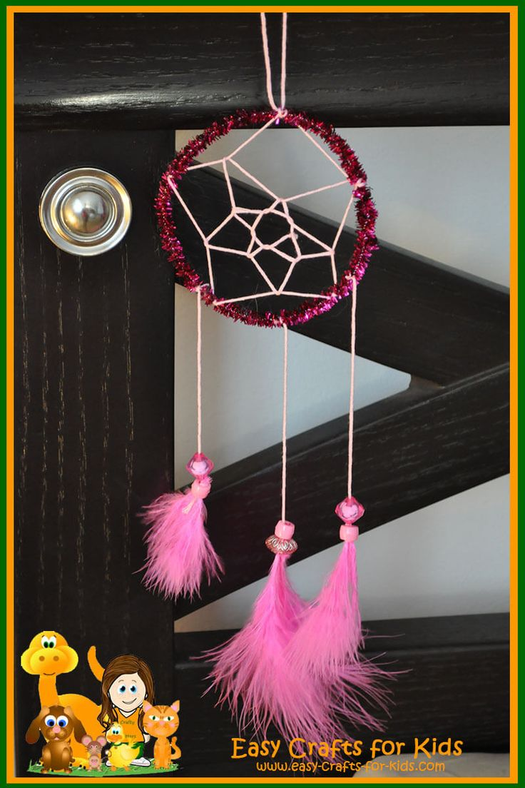 Make your own home-made dreamcatchers