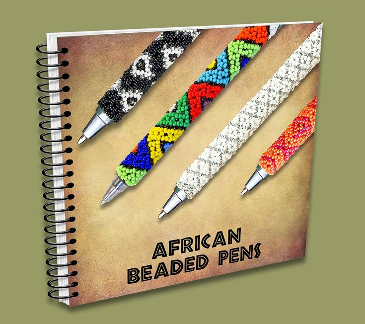African Beaded Pens Catalogue - handmade in South Africa.
