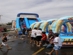 Kid Scrub - http://partyprofessionals.com/az-attractions/water-activities/kid-scrub/
