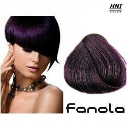 Vopsea de par castaniu violet 4.22 Fanola