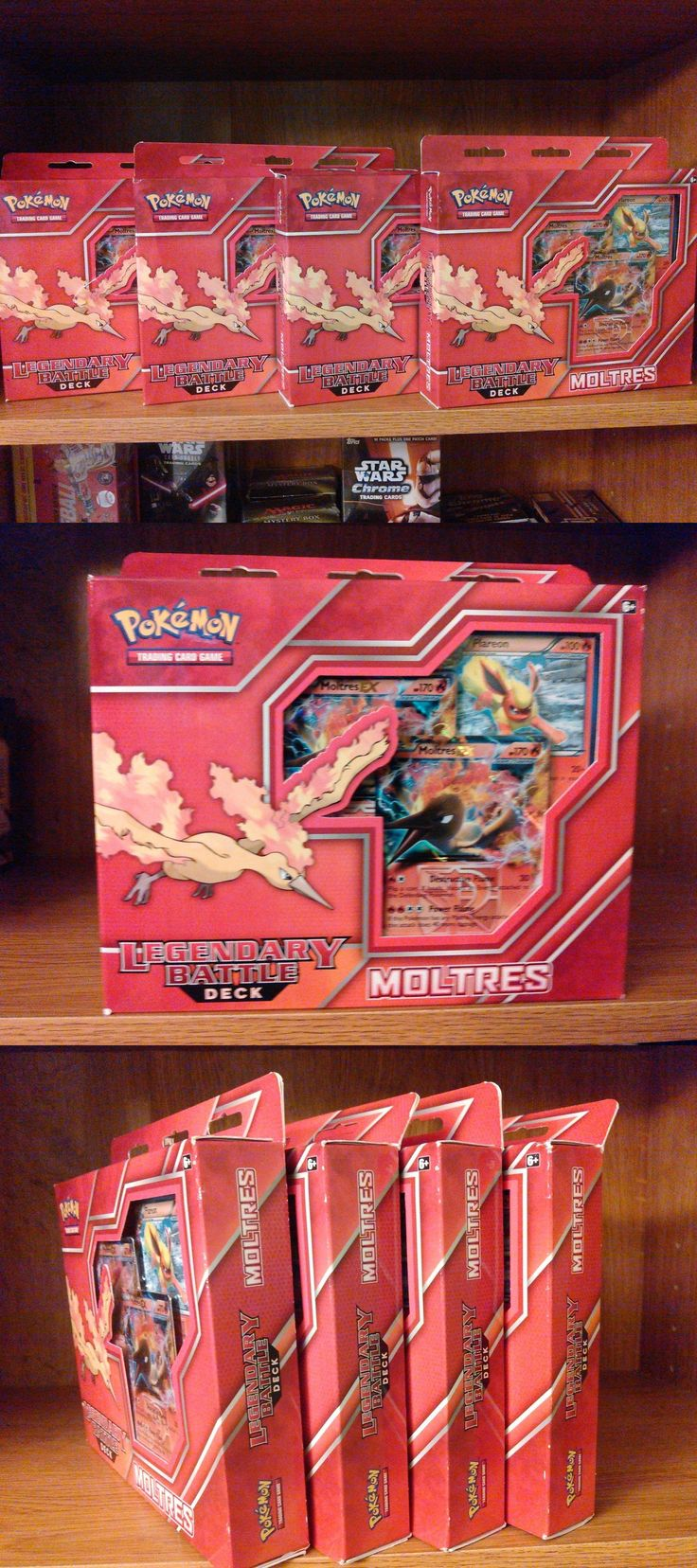 25 best ideas about pokemon moltres on pinterest real pokemon games - Pok Mon Sealed Decks And Kits 183467 Lot Of 4 Pokemon Legendary Battle