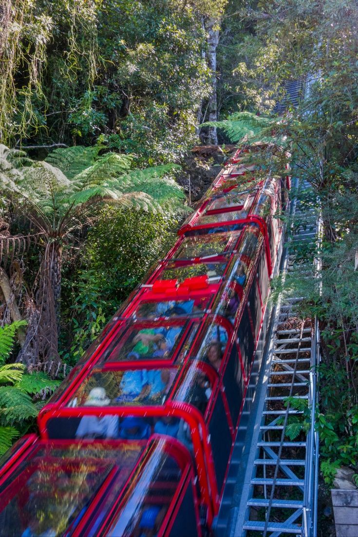The Blue Mountains are located only 2h by train from Sydney, Australia. It's the only place I've been that it's both a National Park and an amusement park: there is a skyway, a cable car and a railway that are attractions by themselves.