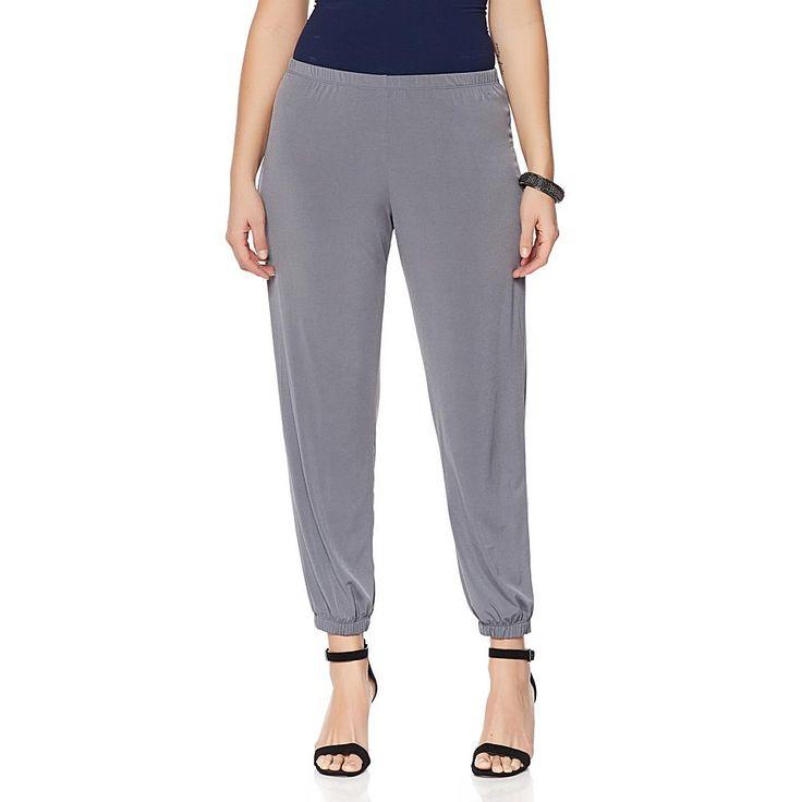 Slinky® Brand 2-pk Solid Harem Pants