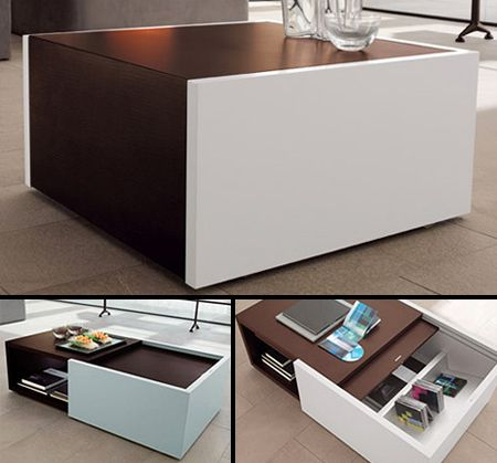 Unique And Stylish Coffee Tables Multifunctional
