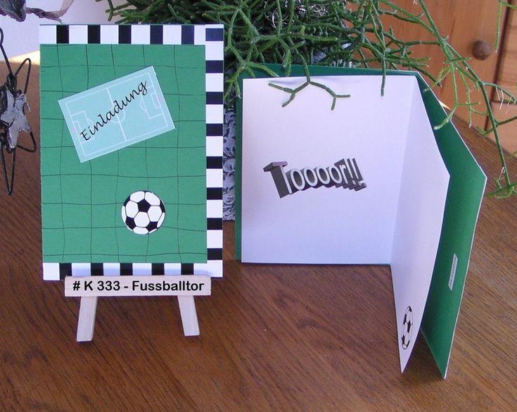 78 best kinder - fußball - party images on pinterest | soccer, Einladung