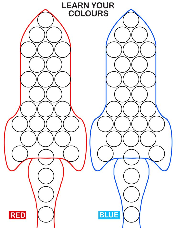 216 Best Dot Markers Printables Images On Pinterest Do A