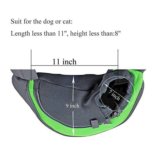CISNO Pet Dog Cat Kitty Carry Carrier Outdoor Travel Oxford Single Shoulder Bag Sling | Dog Supplies - Warning: Save up to 87% on Dog Supplies and Dog Accessories at Our Online Pet Supply Shop