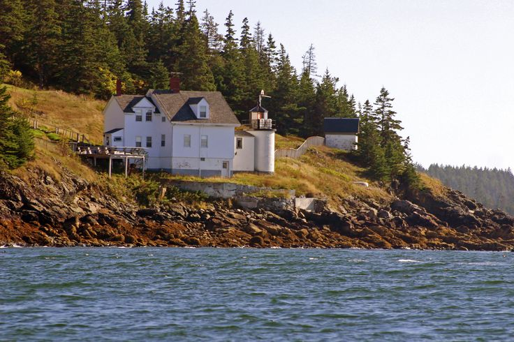 Browns Head, Maine at the northwest end of Vinalhaven Island. Is home of the Vinalhaven town manager.