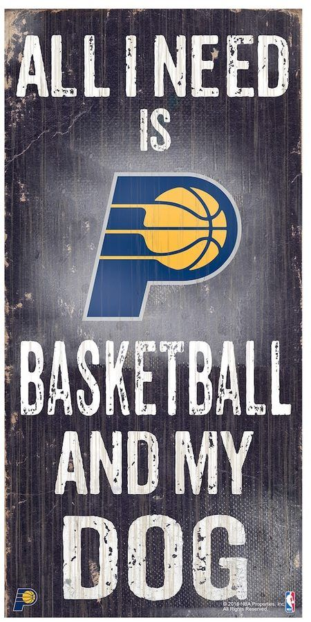 NBA Indiana Pacers All I Need Wall Art