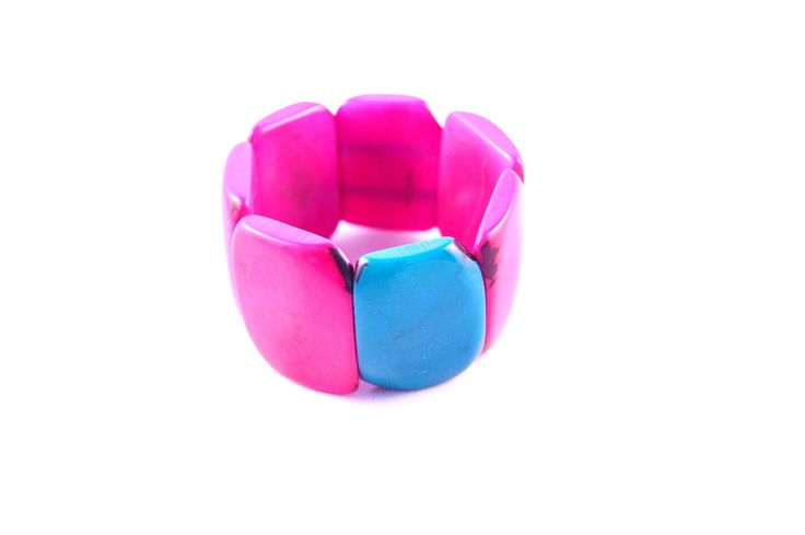 Check it out! #handmade #pinkjewelry #funky
