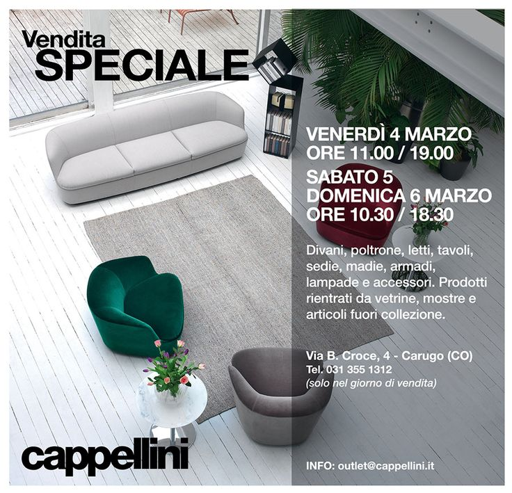 Cappellini outlet carugo