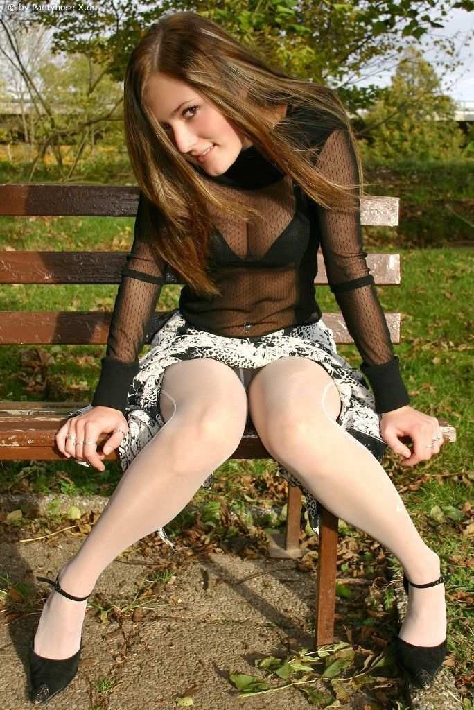 With you Hose outdoor pantie teen have kept