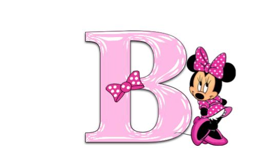 ️The Letter B ~ Minnie Mouse Pink Alphabet | ALPHABETS 8 ...