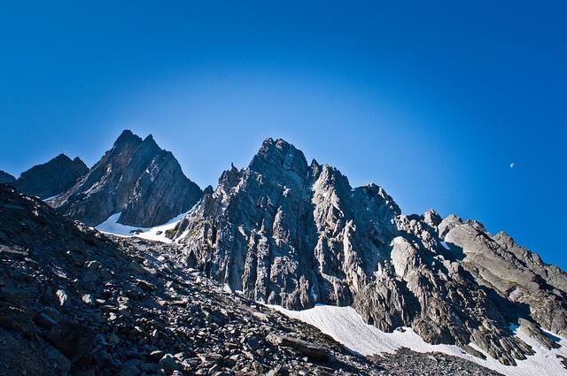 Climbing Fisher's Peak in Cranbrook, BC