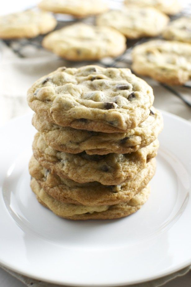 This is my favorite recipe for chocolate chip cookies. They taste just like they would from a fresh bakery!