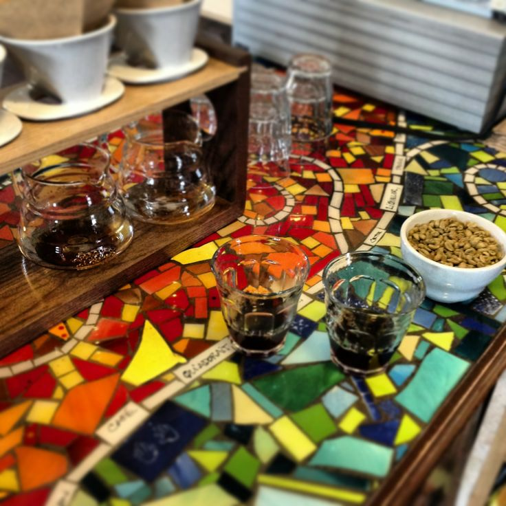 Allez prendre un café à La P'tite Brûlerie: c'est chouette et... coloré!